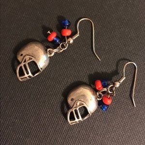 Jewelry - Chicago Bears Football Helmet Earrings